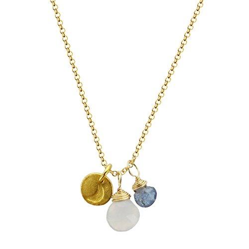 b.u. Inner Peace Charm Necklace 16-18