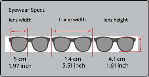 Optical Horned Rim Clear Lens Half Frame Glasses Brown Gold
