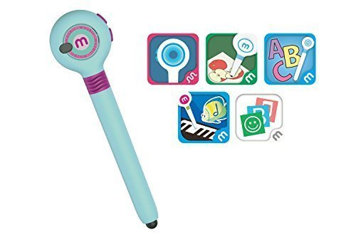 Mozbii - Color Picking Stylus (Ice Blue) Draw With The Color You Snatch, Educational Toy,for iPad, iPad Pro, and iPhone Android phone