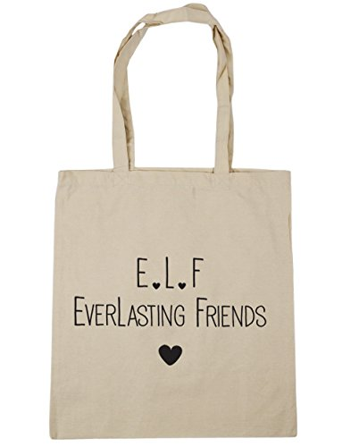 l 42cm Shopping everlasting x38cm Gym HippoWarehouse 10 e Beach Bag litres friends Tote f Natural fvwSWRqH5