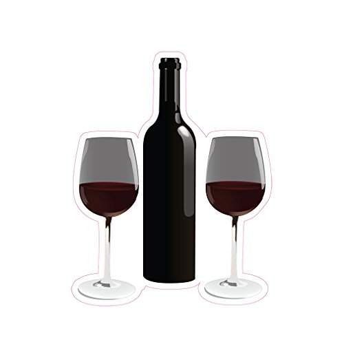 Wine Concession Restaurant Die-Cut Window Static Cling 48...