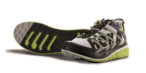 HOKA ONE ONE RAPA NUI 2 BLANCHE NOIRE ET VERTE Chaussures de trail