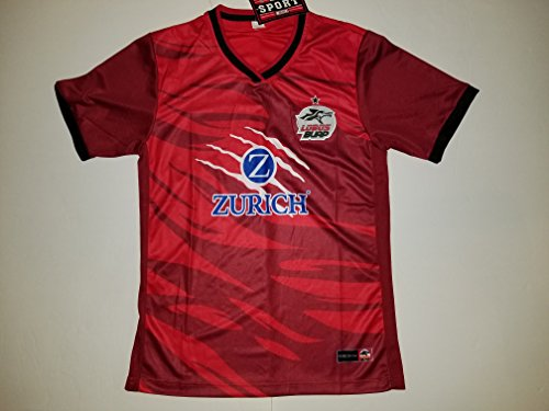 fan products of Men's Red Lobos BUAP Replica Soccer Jersey (Large)