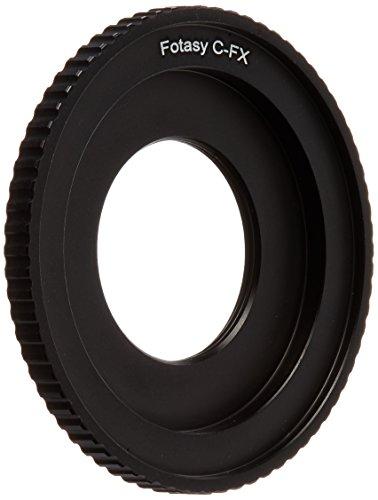 Fotasy AF16 16mm C-Mount Cine Movie Lens to Fujifilm FX Mount Camera Adapter
