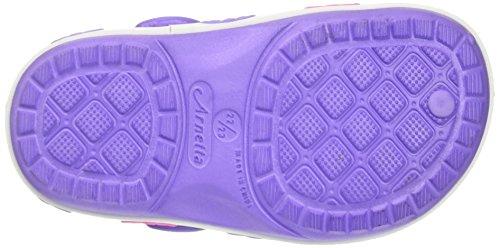 Walt Disney S17490xaz - Patucos de Material Sintético para niña Viola (Lilla)