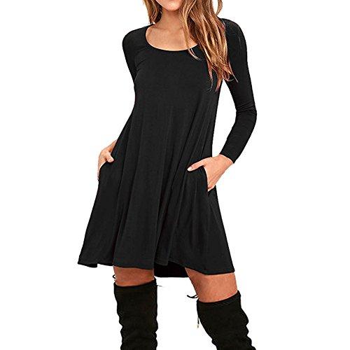 Kleider schwarz casual