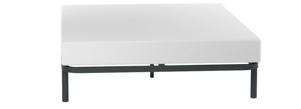 HOGAR24 ES Somier Multiláminas con Reguladores Lumbares, 150x200 cm (5 Patas de 32 cm Incluidas)