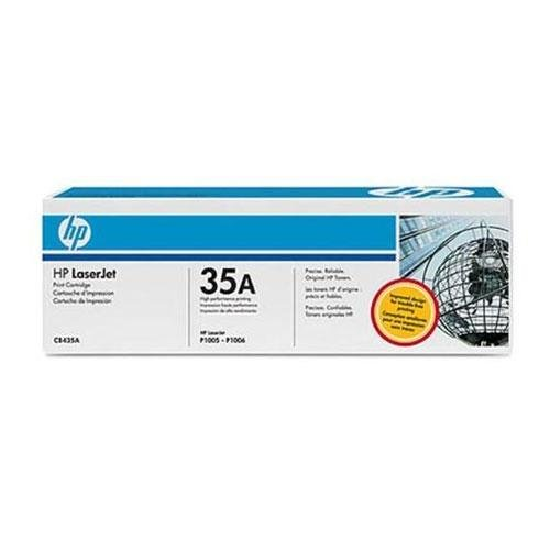 HP 35A Toner Cartridge (CB435A) Compatible by LINKYO LY-CB435A – Black 1500 Yield, Office Central