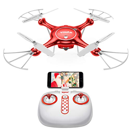 DoDoeleph Drone with HD Camera FPV Real-time WiFi Gravity Control RTF RC Quadcopter with Altitude Hold, Headless Mode, Flight Plan, 360 Rolls (Best Paper Airplane In The World 2019)
