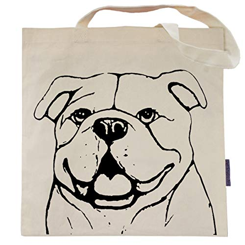 (Bianca the English Bulldog Tote Bag by Pet Studio)