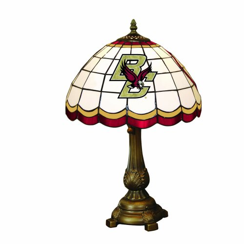 NCAA Boston College Tiffany Table Lamp by The Memory Company