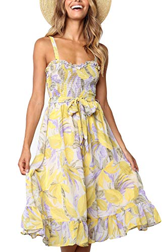 See the TOP 10 Best<br>Floral Belted Fit-And-Flare Dress