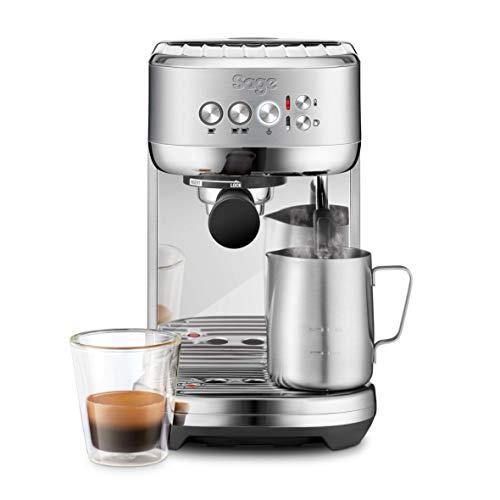 SAGE SES500BSS the Bambino Plus, Cafetera espresso, Cappuccinatore, 15 Bar, Acero Inoxidable