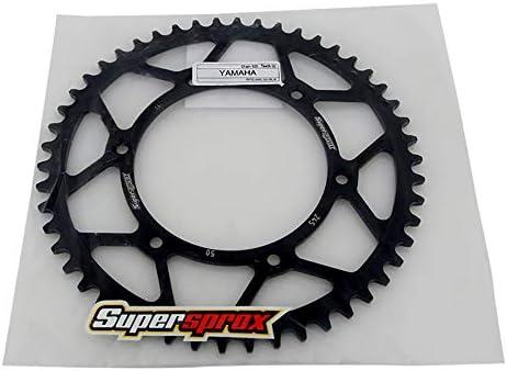 SuperSprox RFE-245-50-BLK Rear Steel Sprocket