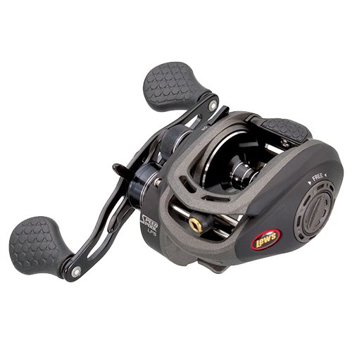Lews Fishing SDG1XHF Superduty G Speed Spool LFS Series, 8.3: 1 Gear Ratio, 35