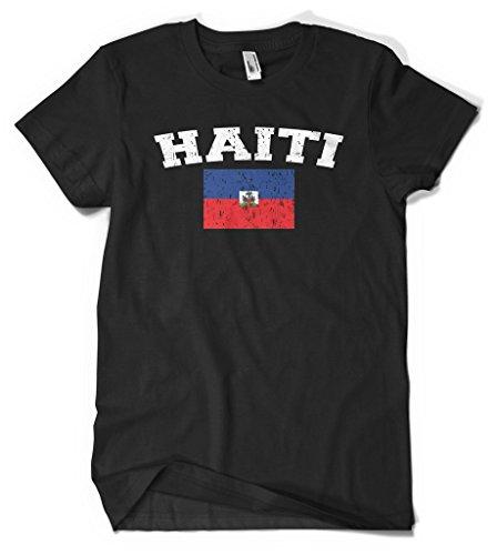 Cybertela Haiti Flag Men's T-shirt