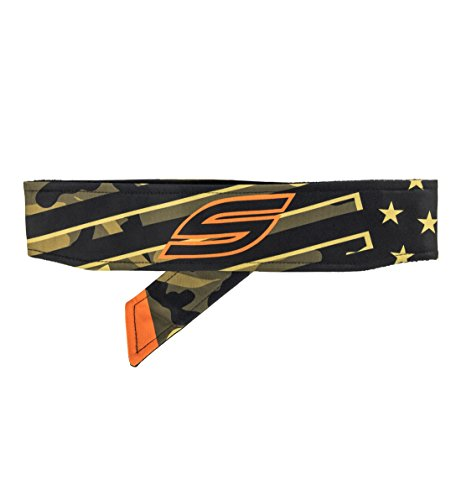 Social Paintball Long Tie Headband, American Flag Camo by Social Paintball