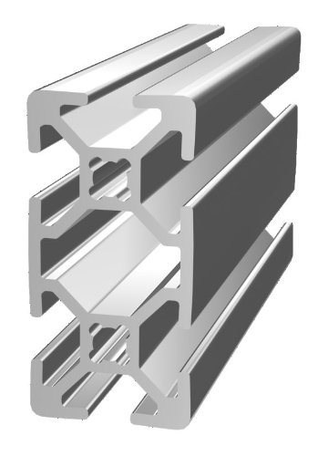 80/20 Inc., 20-2040, 20 Series, 20mm x 40mm T-Slotted Extrusion x 2440mm by 80/20 Inc