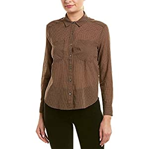 Best Epic Trends 41uKdBkhZcL._SS300_ James Perse Little Boy Check Button-Down Shirt Brown