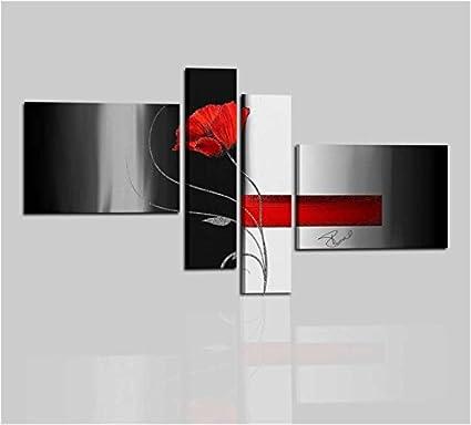 Quadri astratti moderni componibili olio su tela dipinti a for Quadri componibili moderni