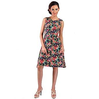 eb22bb2265 LK Vyapaar Pvt Ltd Premium Ladies Dress Stylish Western Wear for Women  Trendy New Design Party Wear A-Line by Mabyn Size-L: Amazon.in: Clothing &  ...