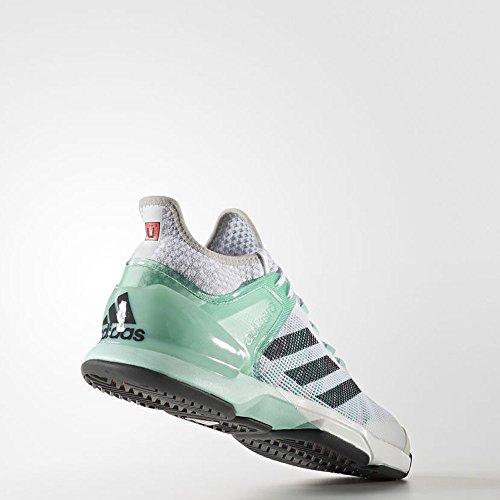 adidas Adizero Ubersonic 2, Scarpe da Tennis Uomo Verde (Verde (Verhie / Grpudg / Ftwbla))