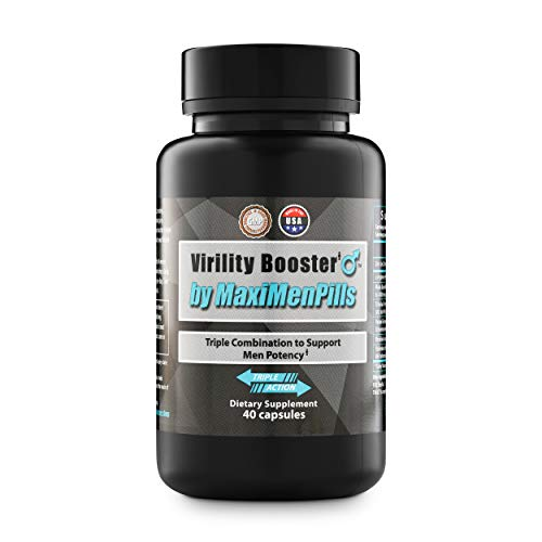 Virility Booster by MaxiMenPills – Testosterone Vitality Endurance Booster