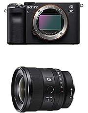 $2596 » Sony Alpha 7C Full-Frame Mirrorless Camera - Black with Sony FE 20mm F1.8 G Full-Frame Large-Aperture Ultra-Wide Angle G Lens, Model: SEL20F18G