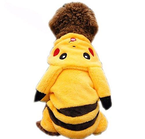 Pikachu Dog Costumes (Pet Costumes Pikachu Fancy Outfit, Medium)