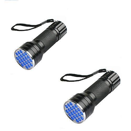 Linterna UV, Ultravioleta Pequeña Mano 395 NM LED, Detector De Orina para Mascotas, Perros Y Gatos, Lámpara UV para Inspección De Agentes Fluorescentes. [Clase De Eficiencia Energética A],XXL