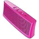 iLuv WAVECASTPN Wavecast Portable Stereo Bluetooth Speaker (Pink)