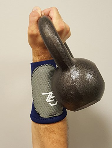 Protective Compression Wrist Guard- Kettlebell, Athletics, Working Out, Fitness, Adjustable Custom Impact Shield -Durable 6