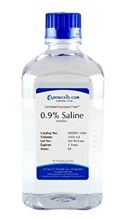 how to prepare saline water