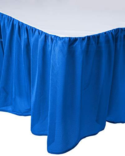 MLB Kansas City Royals Bed Skirt, Queen, Bright Blue (Bedskirt Queen Mlb)