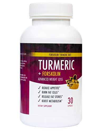 Sacred Life Turmeric Forskolin Weight Management Supplement 30