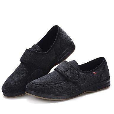 Zapatos de hombre exterior / oficina / Carrera / Polar Casual Slip-on azul Negro