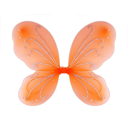 Dushi Girls Butterfly Craze Fairy Wings for Fairy Costumes Party Favor -