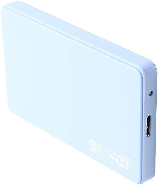 P Prettyia PCノートパソコン用ポータブル外付けハードドライブUSB3.0 SATA HDDストレージ - 2TB