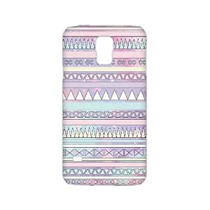 DIY Aztec Chevron Personalized Hard Back 3D Cover Case for Samsung Galaxy S5