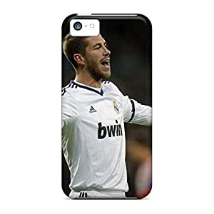 Scratch-free mobile phone carrying skins skin case cover iphone 4s - real madrid sergio ramos is thanking his fans
