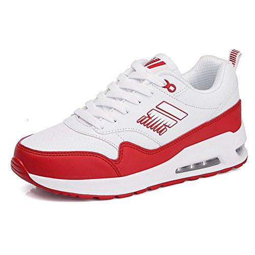blancos deportivos Segundo senderismo Zapatos mujer cuero SHINIK Zapatos ocasionales Zapatos Cojín de Zapatos de Suede de atléticos Comfort aire Señoras Zapatos de w11Hqpa
