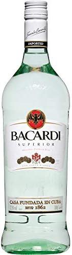 Ron blanco Bacardi 1 litro: Amazon.es: Alimentación y bebidas