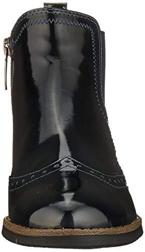 Tamaris Damen 1-1-25313-23 Chelsea Boots, Blau (Navy Patent 826), 38 EU 2
