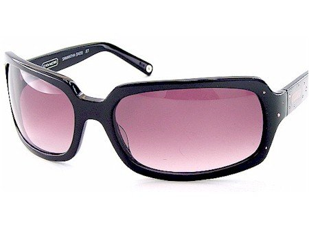 3d5870f17ebe ... good new authentic coach samantha sunglasses s425 s 425 jet 010 black  frame gray burgundy 31331