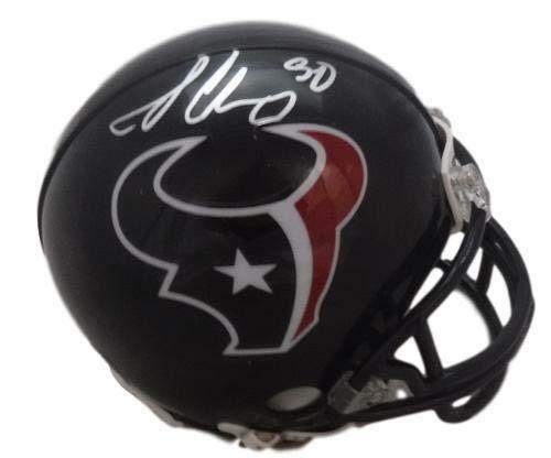 Jadeveon Clowney Autographed Houston Texans Riddell Mini Helmet JSA