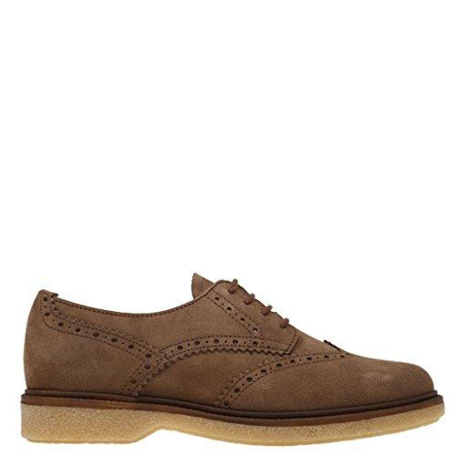 Chaussures Taupe Hope pour lacets ville de Rebecca à femme R5Sv8w