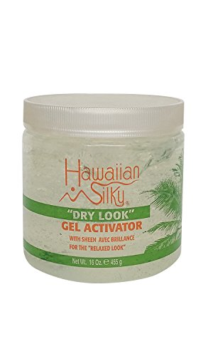 Hawaiian Silky Signature Collection Dry Look Gel Activator 16 oz