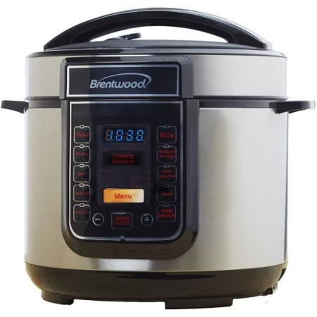 Brentwood 5-Quart Electric Pressure Cooker by Brentwood