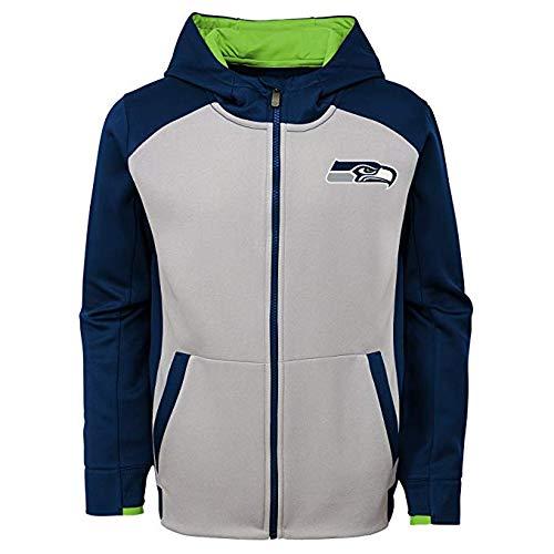 Top seahawks zip up hoodie youth