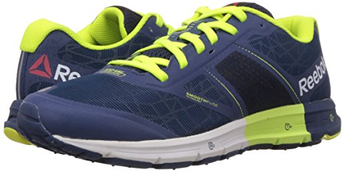 34c0ba57 Reebok Men's One Cushion 2.0 Citylite Faux Indigo,Silver Met,Solar Yellow  and Batik Blue Running Shoes - 6.5 UK: Amazon.in: Shoes & Handbags